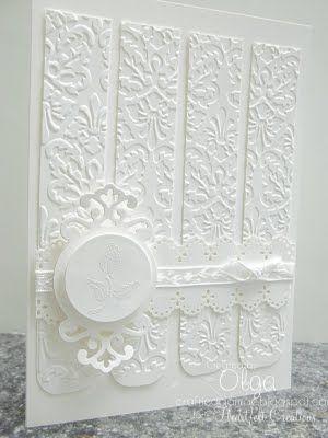 Beautiful white on white