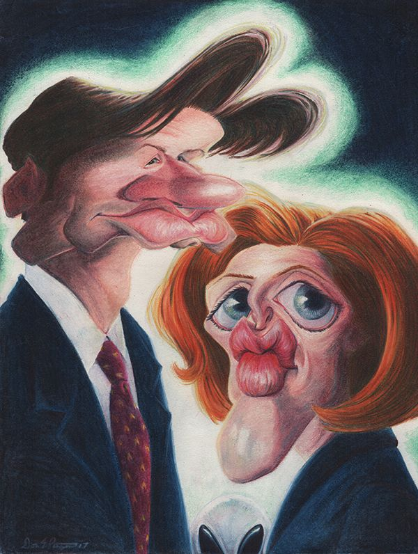 X-Files by Don Pinsent