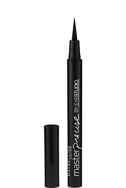 Perfect for filling in sparse lashes, this ultra-precise pen works along the waterline and stays put.  Maybelline Line Stiletto Ultimate Precision Liquid Eyeliner, $5.39; target.com