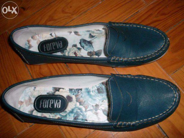 Sapatos de vela de senhora, marca Foreva Vila Franca de Xira - imagem 2