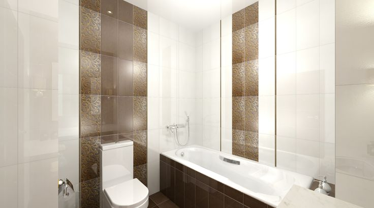 Tile for bathroom Argenta Ceramica Glitter www.terracorp.ru