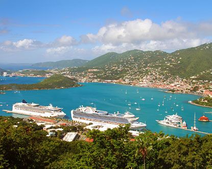 Will be here soon !!   Carribean Cruise- You have cruised when you can look at this picture and know right where it is and have 3,000 of the same pictures:) The bay in St. Thomas is so beautiful from the top of the island<3