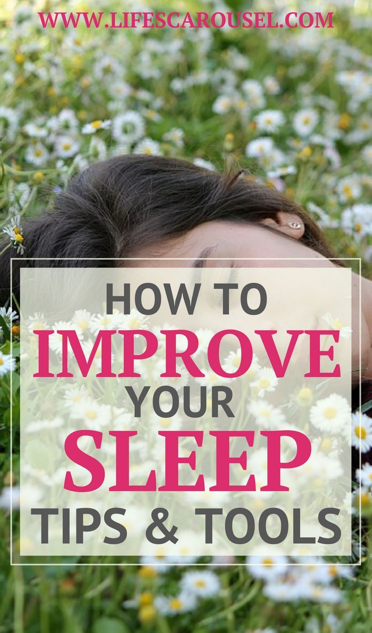 Tips and Tools for Better Sleep Get the rest your need with these