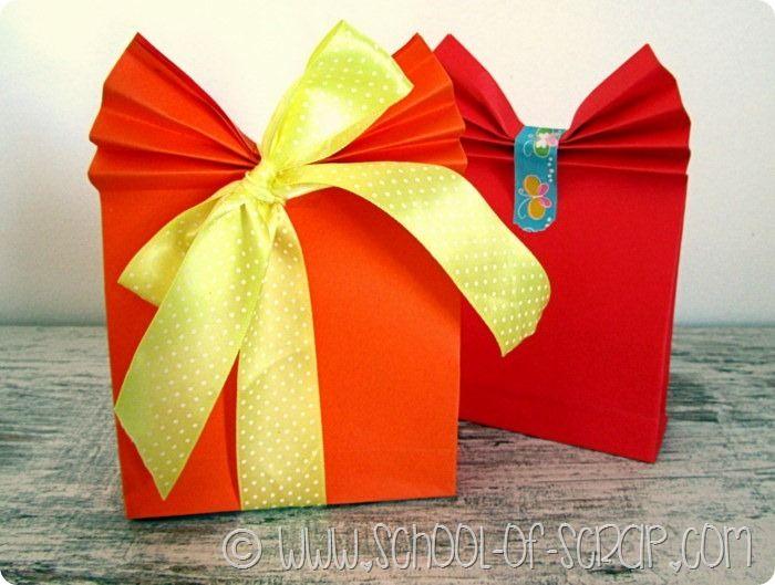 Lavoretti per la festa della mamma pacchetto regalo fai da te