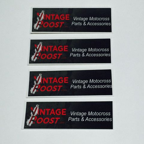 Vintage Roost Sticker, 4 Small