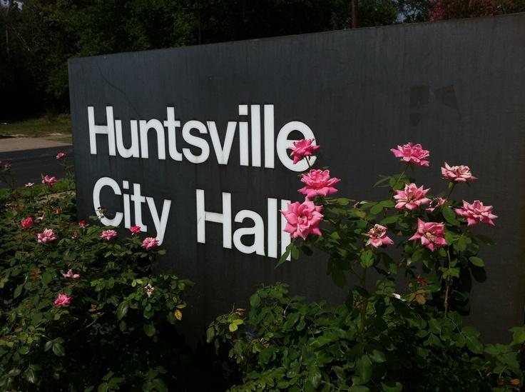 Visit City Hall, located at 1212 Avenue M, Huntsville, TX 77340
