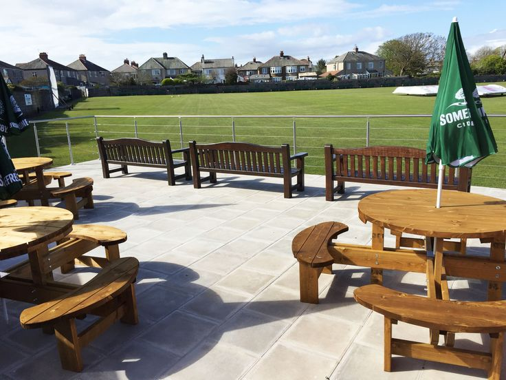 Wire Rope Balustrade for  Furness Cricket Club.