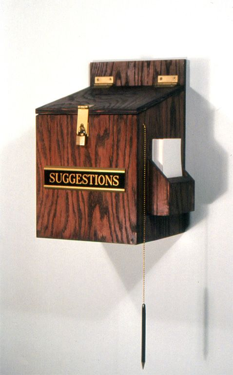 Dusty Mitchell: The Artist — Suggestion Box