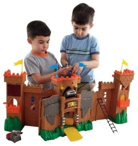 Eagle Talon Castle It can be unfolded and configured in different ways.  http://bit.ly/1s8J3oc