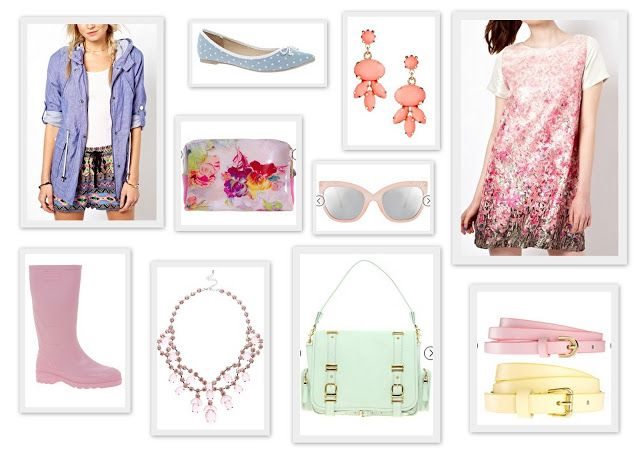 Shopping the Sales - Pastel Perfection  peonyandpeach.blogspot.com
