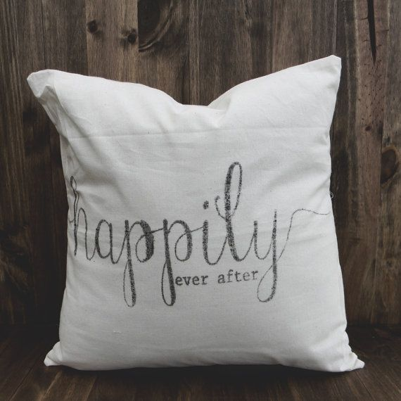 Happily Ever After 16 x 16 Pillow Cover