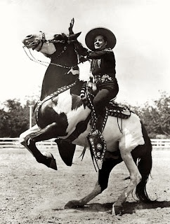 """DIABLO"" Ridden by the ""CISCO KID"" in the 50s series.  There were a Couple DIABLO'S that he rode, he did not own them."