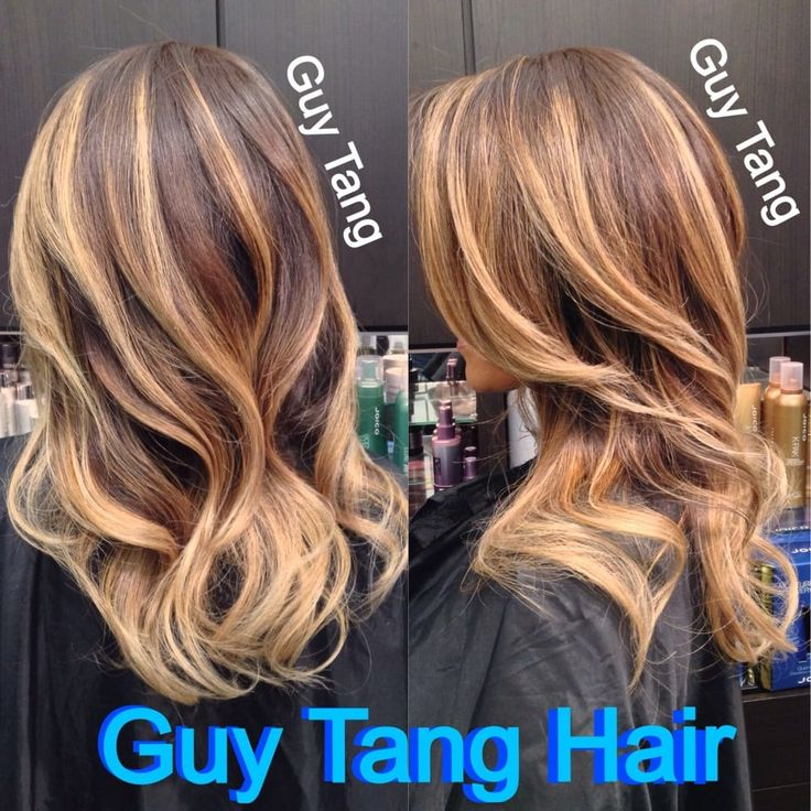 Photo of Guy Tang - West Hollywood, CA, United States. Ombré lights by Guy Tang