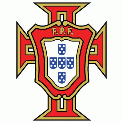 Portugal Primary Logo (1954) - Red shield on a cross