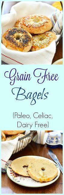 Grain Free Bagels - Paleo Bagels - Gluten Free Bagels — Pure and Simple Nourishment  #paleo #glutenfree #grainfree