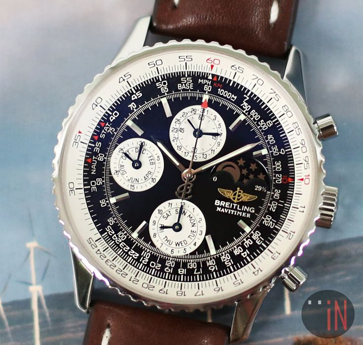 """""""Give It A Spin!"""" #Breitling 42mm Navitimer 1461C Chrono LTD, 2001 Ref#: A19322  ($5,675.00 USD) http://www.elementintime.com/Breitling-Navitimer-1461A19322-10161-Stainless-Steel"""