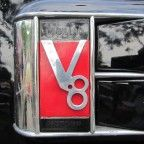 Cadillac V8 Logo (site has great collection of car decal photos)
