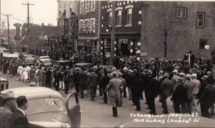 Gold Range Hotel - Coronation Parade May 12 1937
