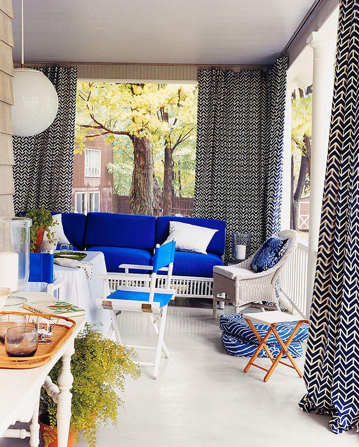 Kültéri, kerti terasz függöny,  – ötletek.