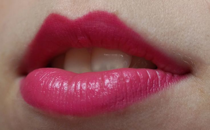 pink lips jummy  Manhattan lip colour