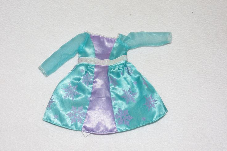 """My First Disney Princess Doll 14"""" Replacement Frozen Queen Elsa Toddler Dress  #Disney"""