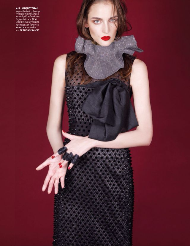 Vogue Tailand February 2015   Zuzanna Bijoch by Nat Prakobsantisuk