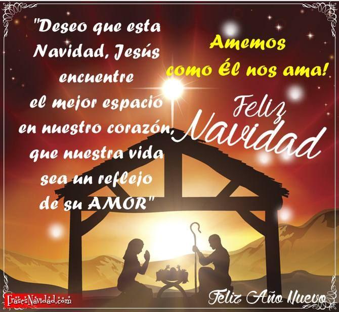 Tarjetas Navideñas Con El Nacimiento De Jesús Tarjeta Navideña Tarjeta De Navidad Mensajes Feliz Navidad Jesús