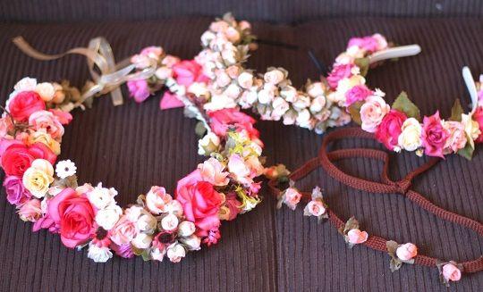 Aprenda a Fazer 4 Coroas Artesanais de Flores