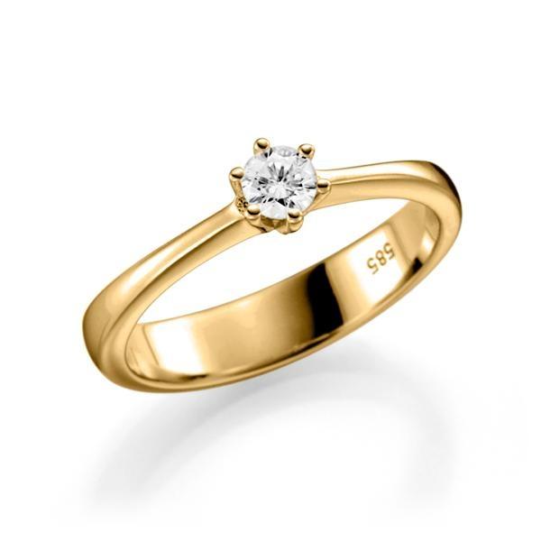 Ring gold 585 mit brillanten