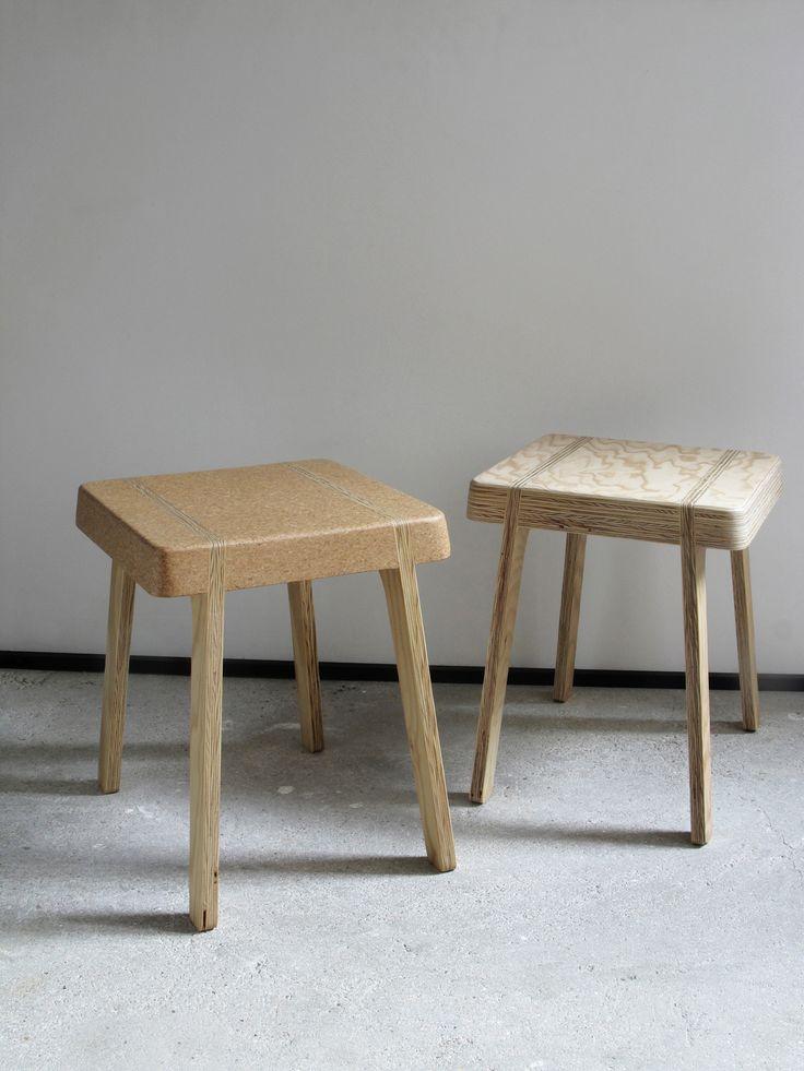 CORK-STOOL / TABOURET / Design Nicolas LANNO