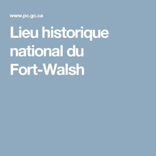 Lieu historique national du Fort-Walsh
