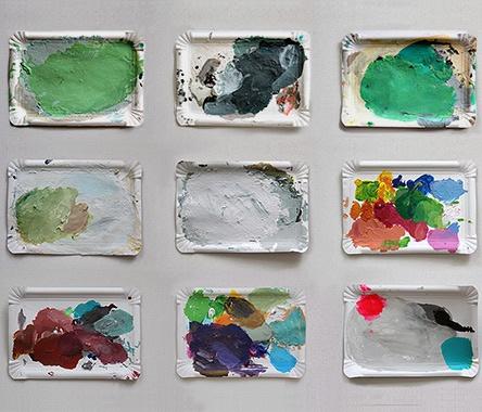MOODCAKE, 2009  -mood cakes- 2009  http://www.marumaru.de/moodcakes.html -mood cakes- 2009  http://www.marumaru.de/moodcakes.html #installation #paper #color #art #marucarranza http://www.marucarranza.com