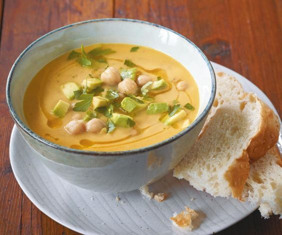 Kichererbsen-Möhren-Suppe - [ESSEN UND TRINKEN]