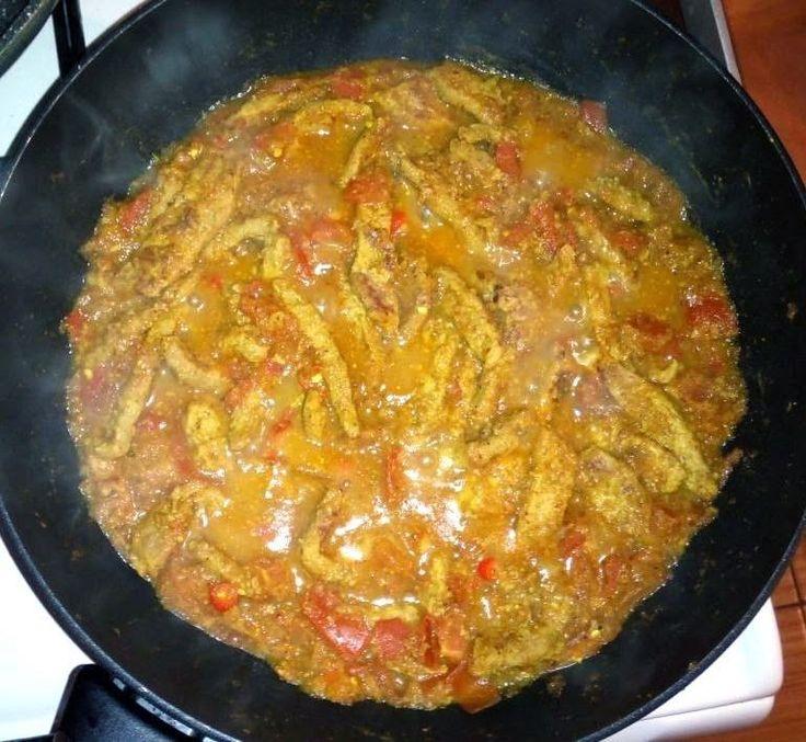 Soy Meat Vindaloo