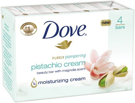 Dove Purely Pampering Beauty Bar - Pistachio Cream with Magnolia - Probably my favourite bar of soap by Dove, the scent is so refreshing and uplifting.