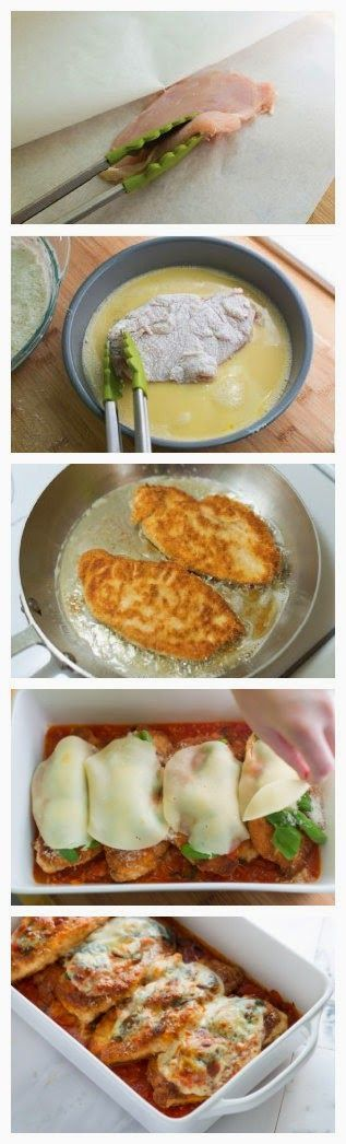 Chicken Parmesan Recipe | CookJino