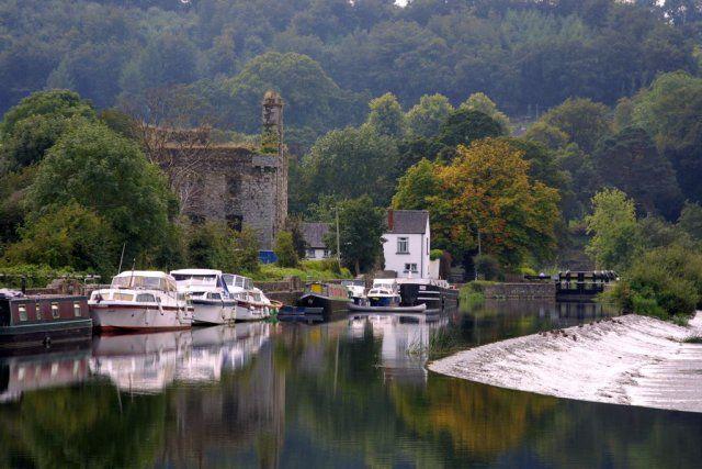 Le chateau de Tinnahinch - Comté de Cavan, Ulster, Irlande