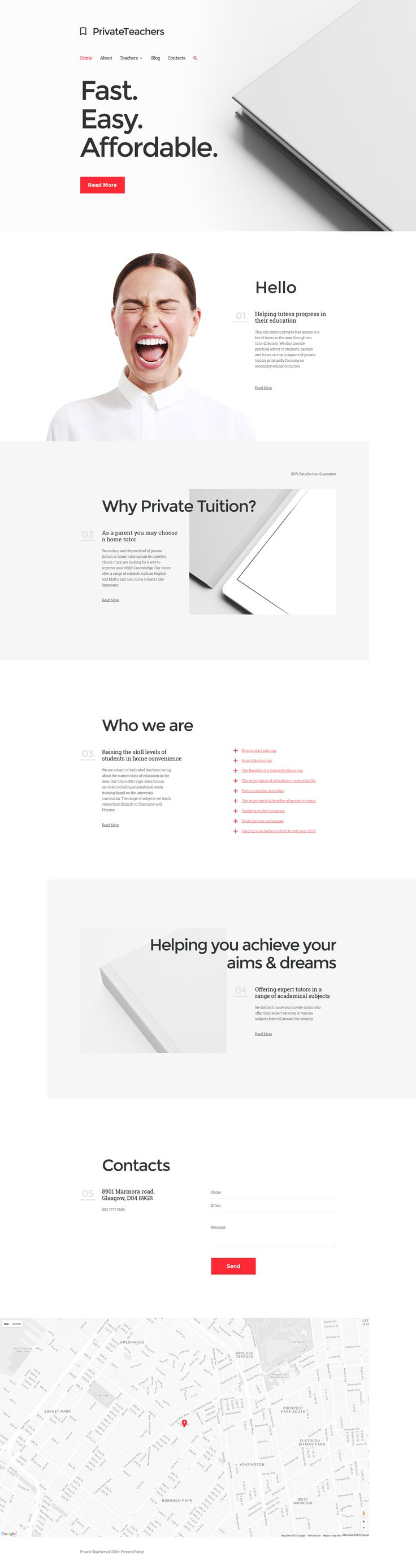 Private Teacher Responsive Website Template http://www.templatemonster.com/website-templates/responsive-website-template-58042.html