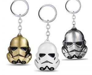 Star Wars Metal Mask Keychain For Women and Men