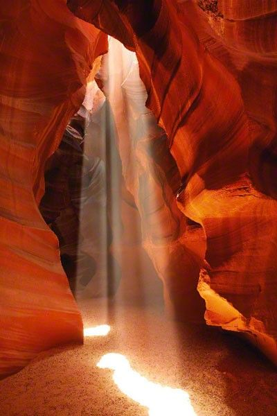 """SECRET VEIL"" - ANTELOPE CANYON, ARIZONA © 2011 Peter Lik Fine Art Photography"