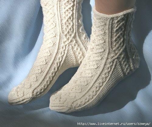 Очень большая подборка вязания носков.. Обсуждение на LiveInternet - Российский Сервис Онлайн-Дневников