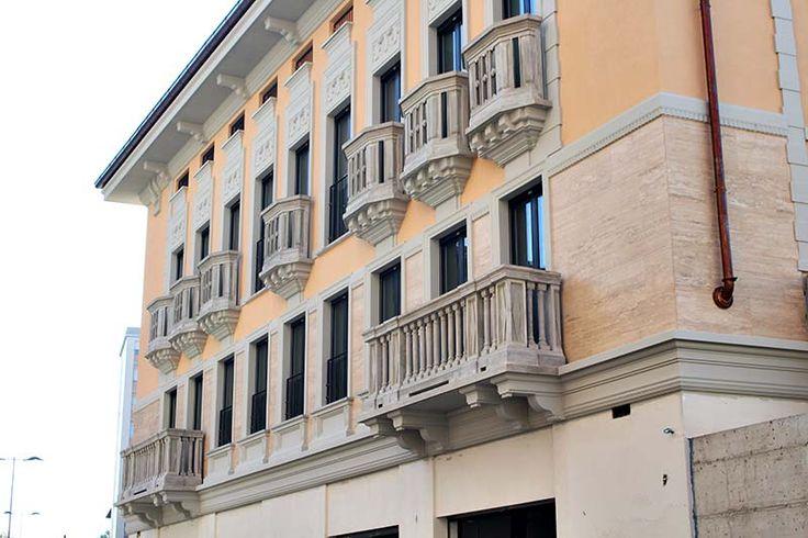 Riproduzione fedele decori facciata  www.elenidecor.it