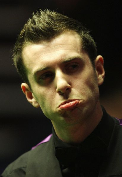 Mark Selby Photos Photos - Mark Selby of England reacts to winning the second frame against Graeme Dott of Scotland during the semi final match of the Betfred.com World Snooker Championships at The Crucible Theatre on April 29, 2010 in Sheffield, England. - Betfred.com World Snooker Championships