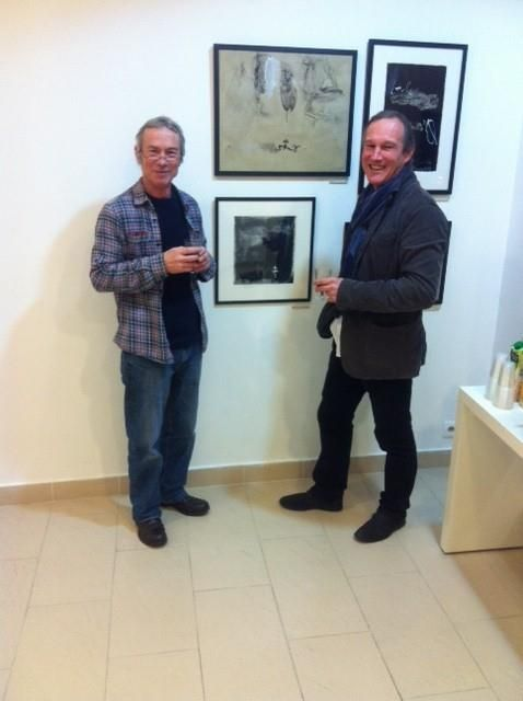 Andrew Crane exhibition in gallery 151 brussels