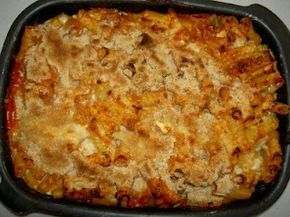 Baked Macaroni - an authentic Maltese recipe - this is similar to what my grandmother made.