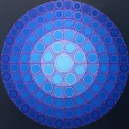 Victor Vasarely, 'Koer ,' 1974, Ascaso Gallery                                                                                                                                                                                 More