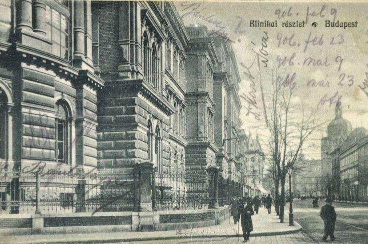 #Budapest #1906 -  #ClinicalDetails #OldBudapest