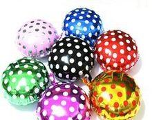 importazione dot palloncini pellicola di alluminio foglio di alluminio palloncini festa di nozze decorare il palloncino all'ingrosso a un pacchetto di cinque(China (Mainland))