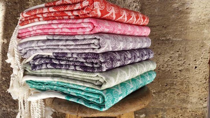 Our wonderful Ottoman Pestamel. Exclusively at Jennifer's Hamam.  #jennifershamam #towel #pestamel #Turkish #organic #cotton #shopping #handmade