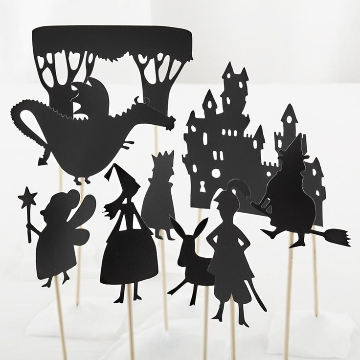 Kids' Theater: Princess Castle Shadow Puppets in All New